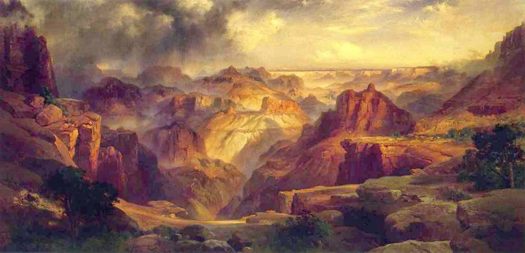 Painting of The Grand Canyon by Thomas Moran
