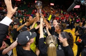 Sue Bird with the Seattle Storm